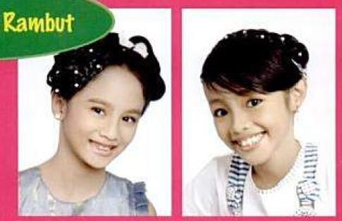 Ini ada beberapa model rambut terbaru 2012 yang cocok untuk anak anda