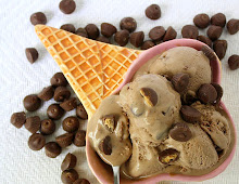 Chocolate Moose Tracks Ice Cream . . .