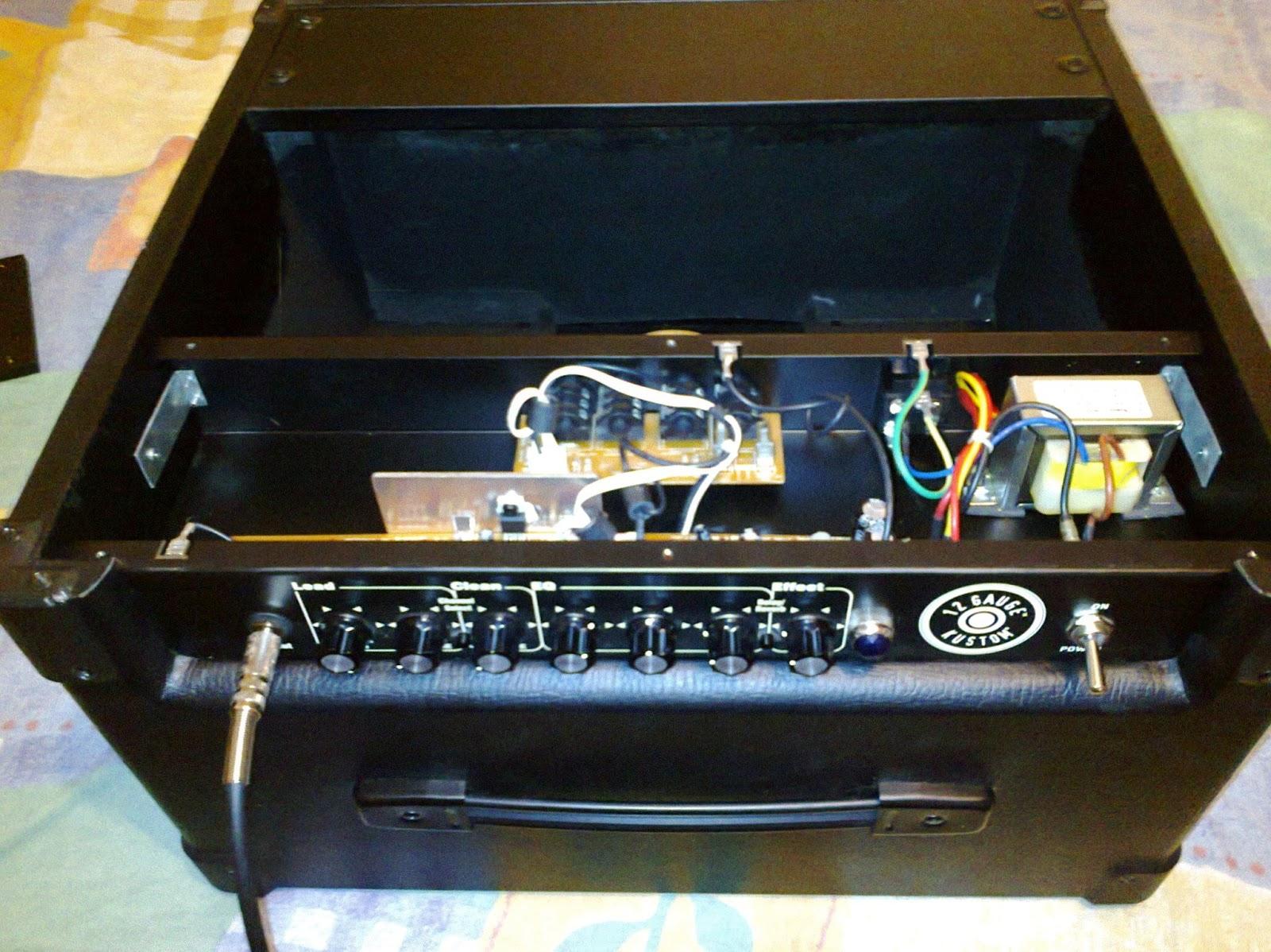kustom 12 gauge amplifier mod! guitar dreamer