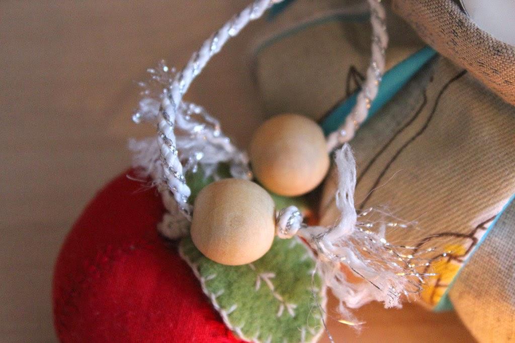 украшение завязок в омияге