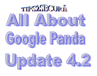 Google panda update 4.2 interview with Google