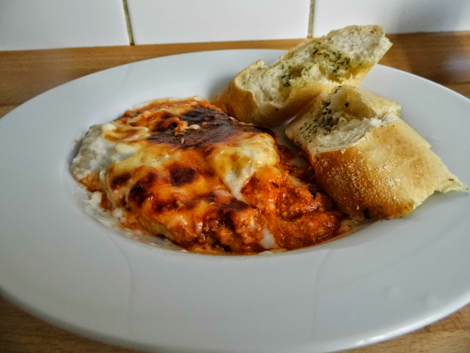 Lasagna for lunch