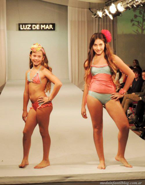 luz de mar mallas para nenas verano 2014