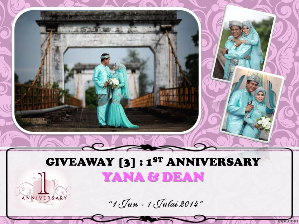 http://yanapinkblossom.blogspot.com/2014/06/giveaway-3-1st-anniversary-yana-dean.html