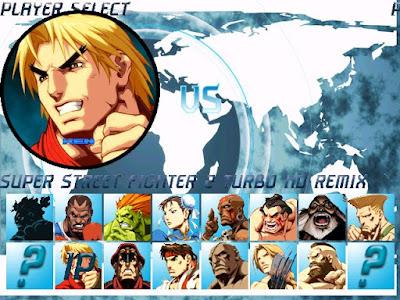 超級快打旋風2(街頭霸王)MUGEN高清重製版硬碟綠色免安裝版,經典2D格鬥遊戲!