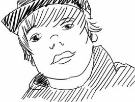Justin Bieber Coloring Pages That You Can Print
