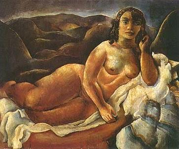 pintura de mulher nua