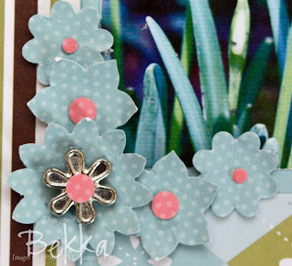 Stampin' Up! Scrapbook Page Detail