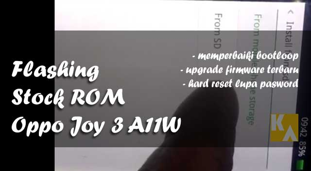 stock rom firmware oppo joy 3 a11w