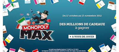 Des millions de cadeaux à gagner à Macdo monopoly madonalds 2012