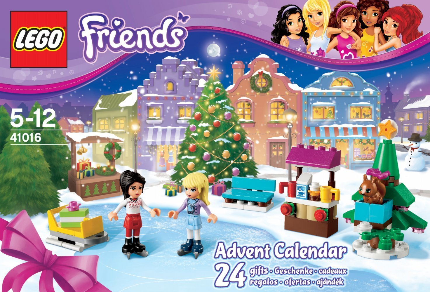 Displaying 17> Images For - Lego Friends Advent Calendar 2012...