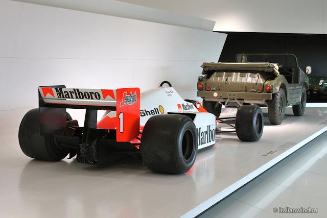 McLaren TAG MP 4/2 C F1, 1986 г.