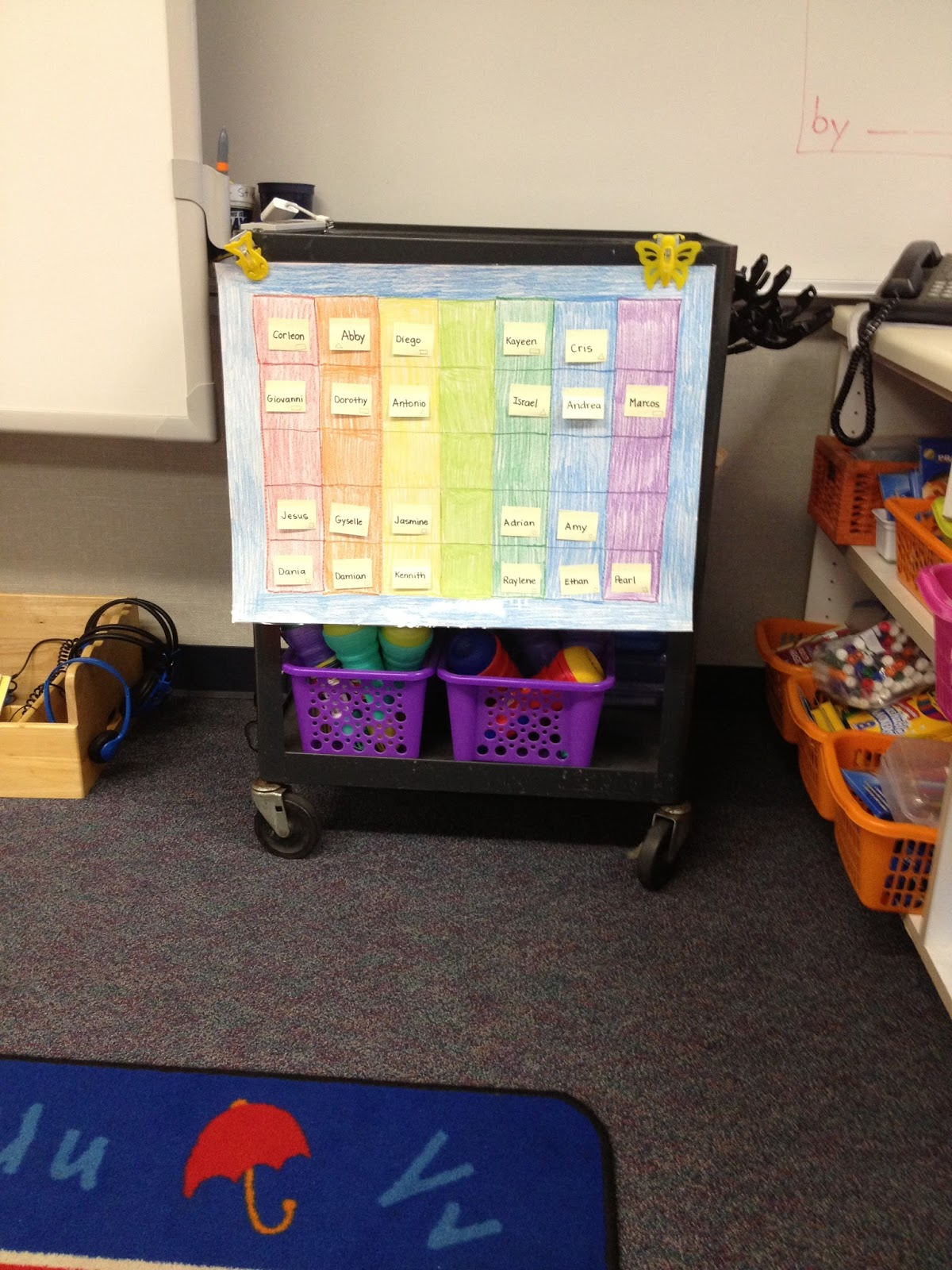 back to school basics classroom rug seating chart