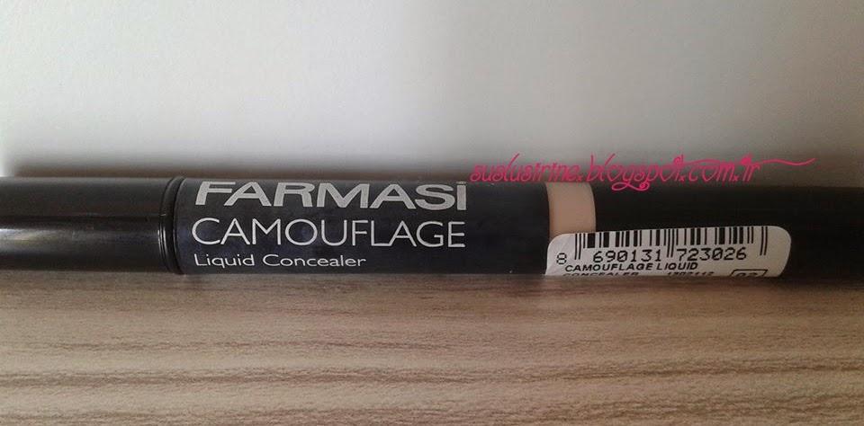 farmasi camouflage liquid concealer