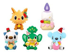 Pokemon Plush 2011 Xmas version Banpresto