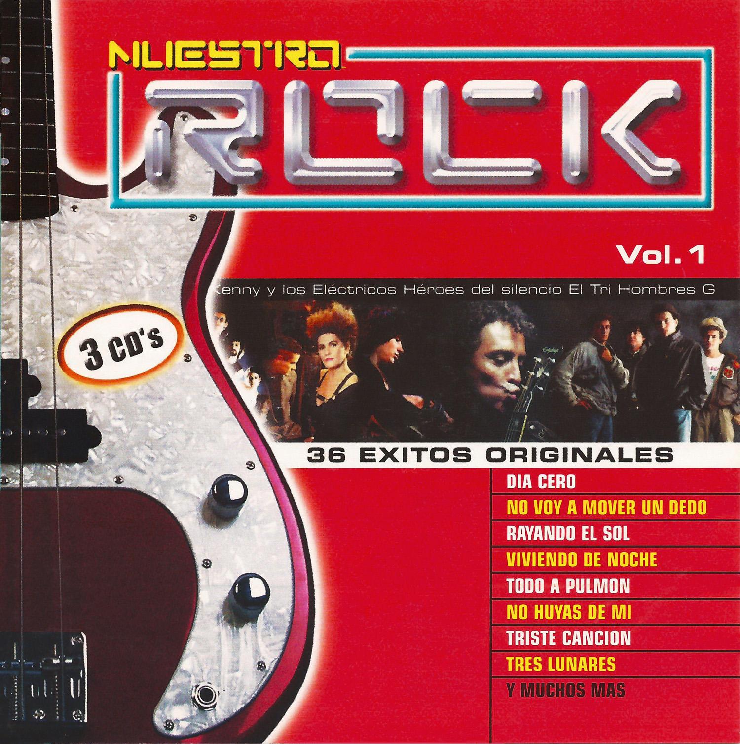 Nuestro rock Vol 1