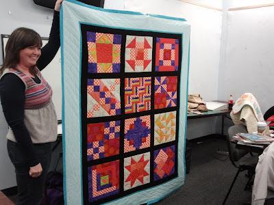 first quilt sampler