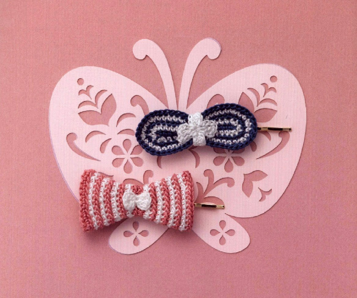 Crochet Hair Video Download : Crochet Hair Clips Free Japanese Crochet Patterns Download