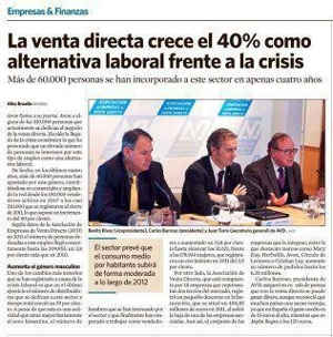 Prensa mercadeo multinivel