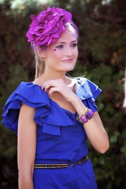 Vestido azul invitada perfecta