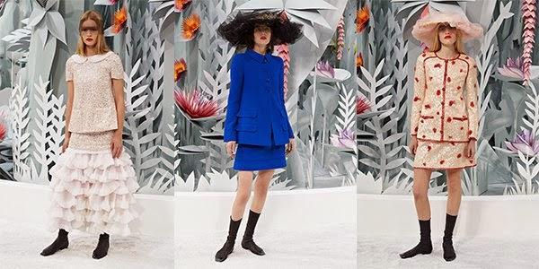 Chanel Fashion Show Spring 2015 Fashion Week Chanel Haute