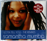 Samantha Mumba - Gotta Tell You (The Remixes) (CDM) (2000)
