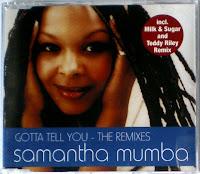 Samantha Mumba - Gotta Tell You (The Remixes) (CDM) (2000)