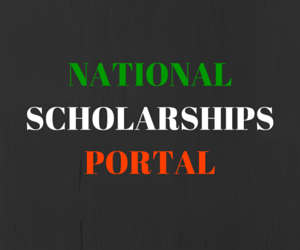 National scholarships portal -one-stop solution for all Scholarships in India