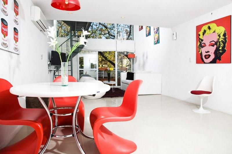 Decora hogar decoraci n de comedores pop art v deo fotos - Decoracion pop art ...