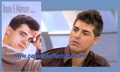 Brasileño Bruno y Marrone Maikel Mujeres y hombres