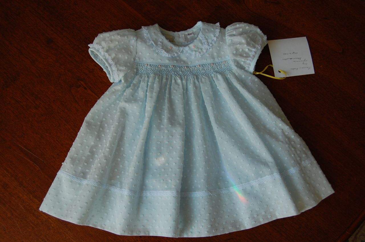The Old Fashioned Baby Sewing Room: Emma's Smocked Baby ...