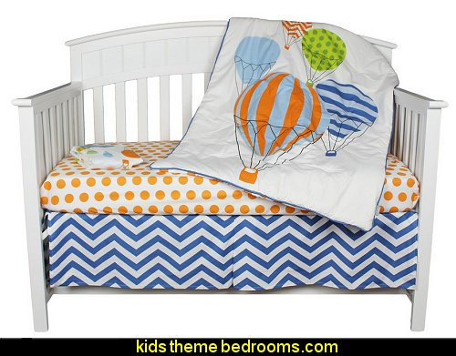 Hot Air Balloon Crib Bedding