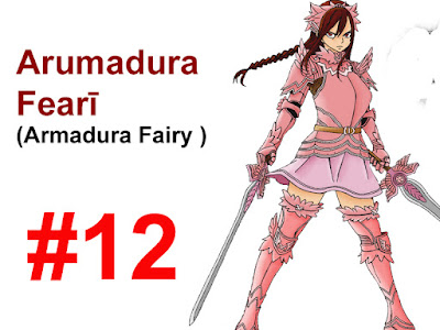 Armadura Fairy Erza Scarlet
