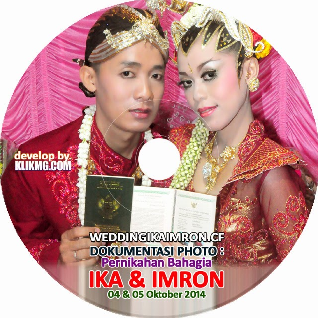 Cover Disc Photo : Pernikahan IKA & IMRON