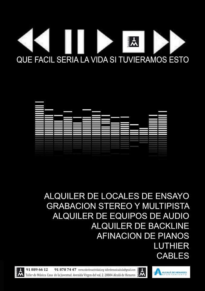 Cidaj locales de ensayo y otros servicios del taller de for Locales de ensayo valencia