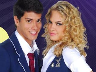 Fotos Roberta e Diego - Rebelde Record
