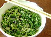 Acelga com Toque Oriental (vegana)