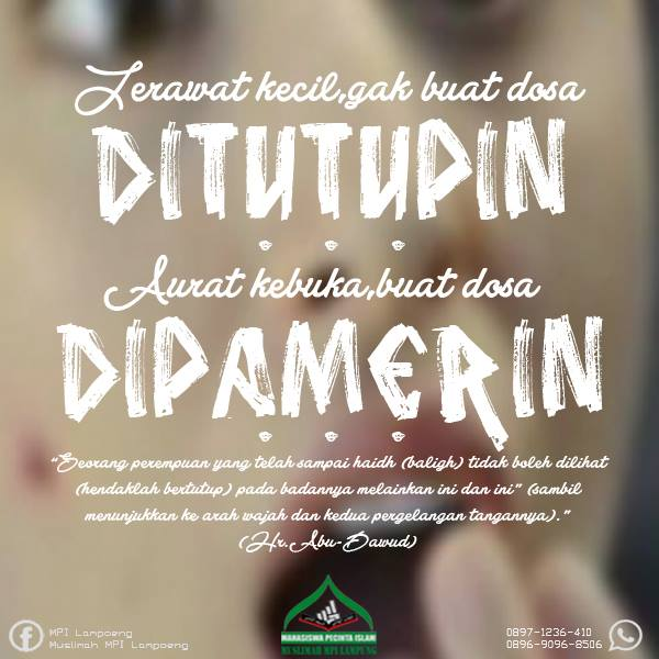 Aurat Kok Dipamerin, Muslimah MPI Lampung