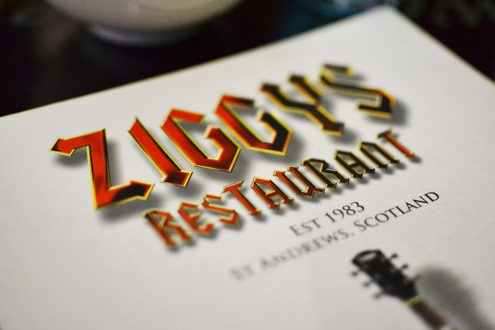 ziggy's restaurant st andrews review