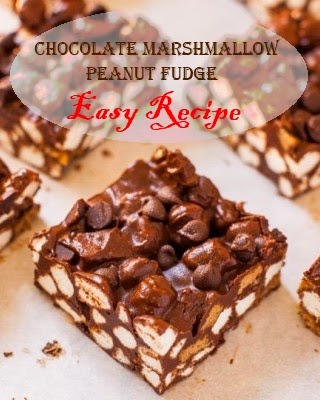 Chocolate Marshmallow Peanut Fudge, an Easy Recipe for the Candy-Making Novice