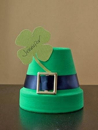 Decoracion Reciclada para el Dia de San Patricio o St. Patrick's day