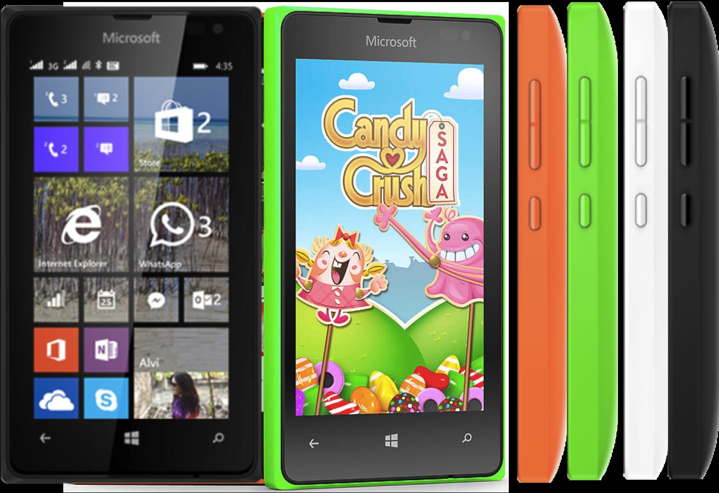 Microsoft Nokia Lumia 435 Windows 8GB 3G GPS Wifi Unlocked ...