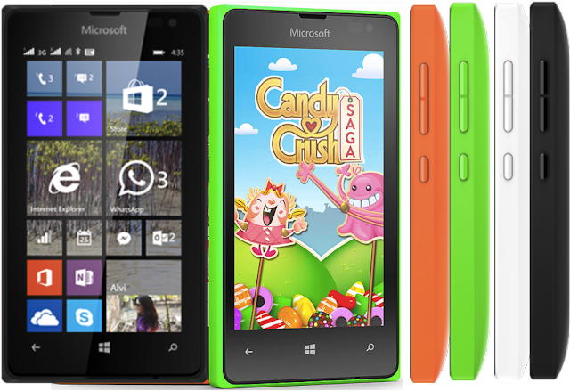 Microsoft Lumia 435 Specification