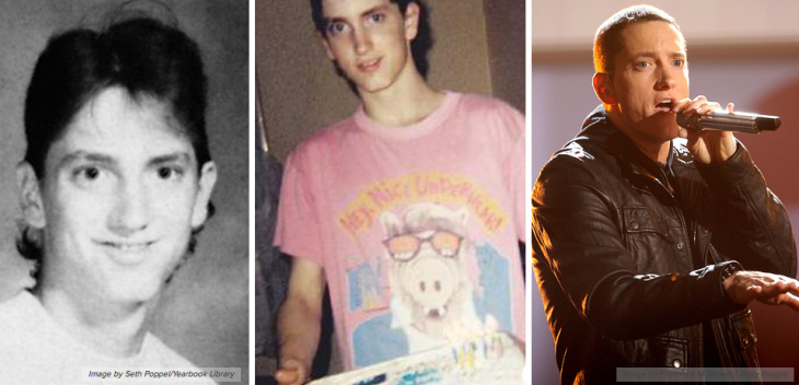 Eminem  Eminem antes de ser famoso en su fotos de la juventud