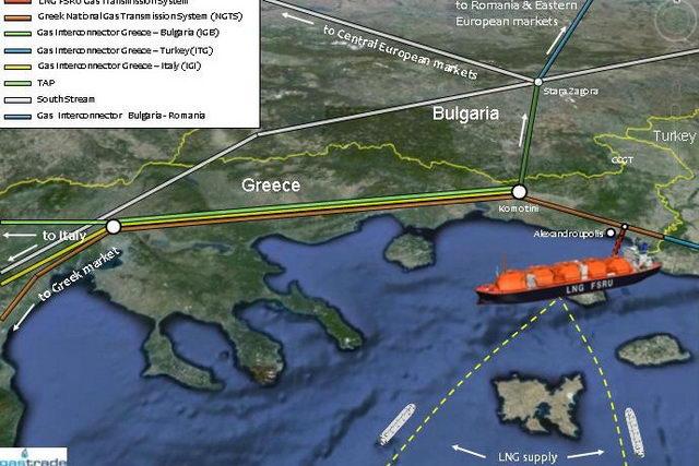 Κομβικής σημασίας η πλωτή μονάδα LNG στην Αλεξανδρούπολη
