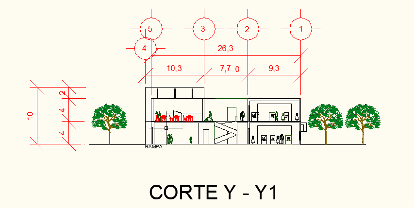 Proceso de dise o de un museo etnografico de oaxaca for Representacion arquitectonica en planos