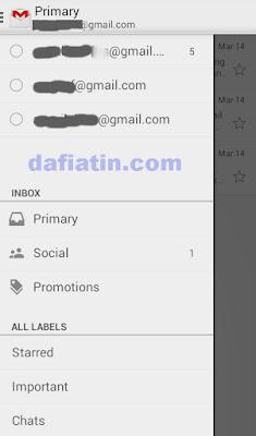 Cara Menambahkan Akun Email GMail di Android