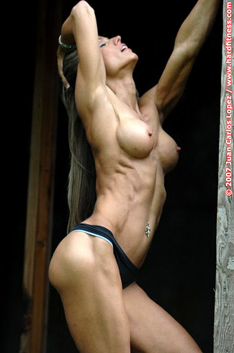 hot girl with abs naked
