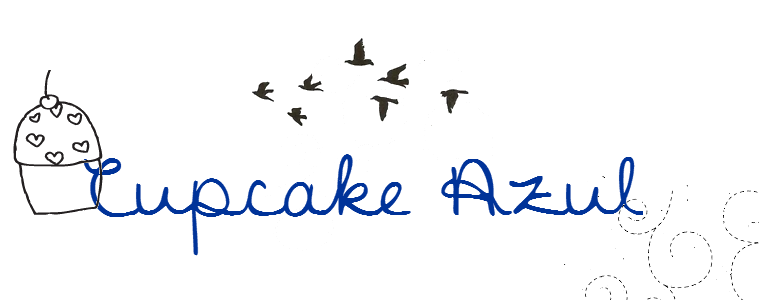 Cupcake Azul