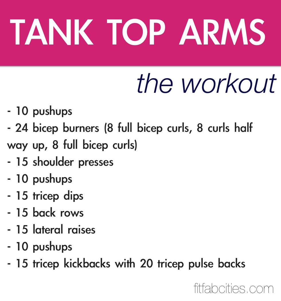 Free Weights Printable Exercises: Summer Bodies Are Made In...Part 3